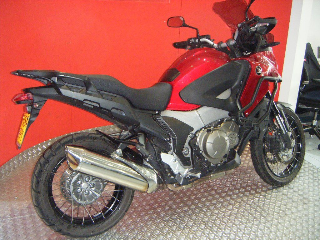 Used Honda VFR1200X Crosstourer available for sale, Red, 4380 Miles | Honda Used Motorcycles